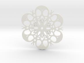 coaster in White Strong & Flexible
