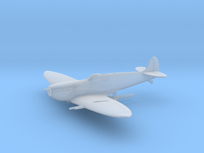 Spitfire Mk Vc Flying in Smooth Fine Detail Plastic: 1:144