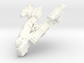Spacecraft06 in White Processed Versatile Plastic