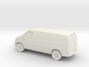 1/87 2003-14 Chevrolet Express Van in White Natural Versatile Plastic