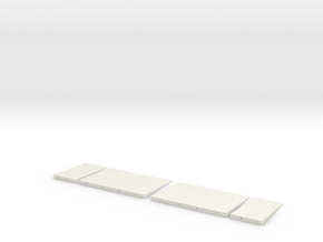 3d Elevator Panels NS in White Strong & Flexible