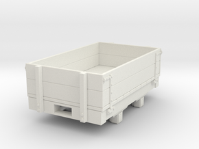 Gn15 small 5ft Dropside wagon in White Strong & Flexible