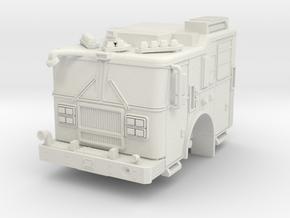 1/87 HO FDNY Like Seagrave MII Marauder Cab in White Natural Versatile Plastic