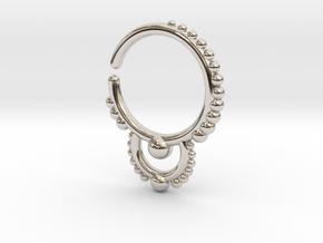 Ear/Nose Hoop in Platinum