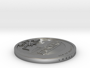 Old 2013 Lunaro Coin. in Natural Silver
