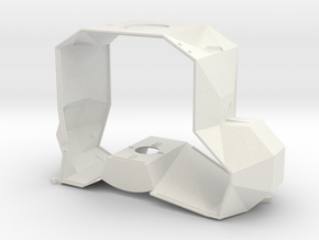 05-Mid Section Structure in White Natural Versatile Plastic