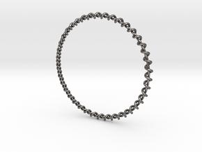 Bra M17 -I- in Polished Nickel Steel