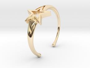 UpStar Bracelet (Size M) in 14K Yellow Gold