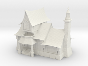 Fantasy Tavern (Large Size) in White Natural Versatile Plastic