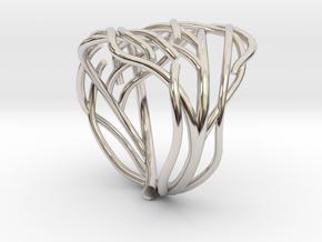 Tree ring in Platinum