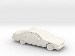 1/87 1991 Chevrolet Caprice Classic in White Strong & Flexible