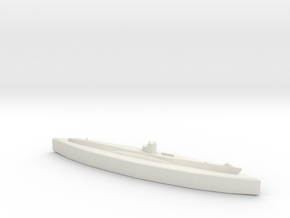 U-48 (Type VIIB U-Boat) 1/1800 in White Natural Versatile Plastic