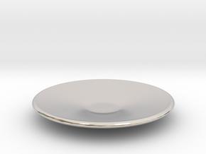 Large plate 1/12 in Platinum