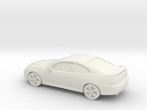 1/87 2006 Pontiac GT in White Natural Versatile Plastic