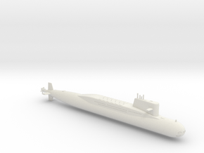 1/700 Type 092 (Xia Class) SSBN in White Strong & Flexible