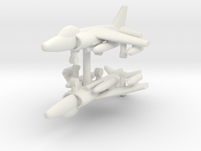1/285 GR.9 Harrier (x2) in White Natural Versatile Plastic