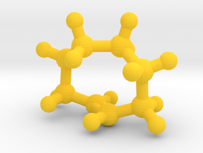 trans-Cyclooctene (small) in Yellow Processed Versatile Plastic