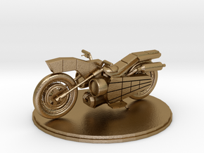 Bike in Polished Gold Steel