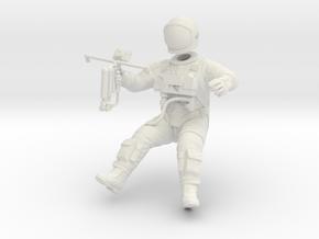 Gemini EVA Astronaut / 1:24 / Revell Kit Extension in White Natural Versatile Plastic
