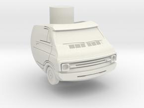 Van ring in White Strong & Flexible