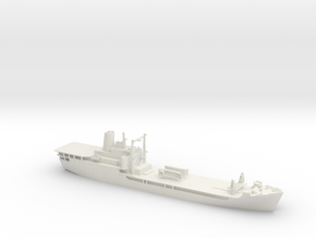 HMAS Tobruk 1/350 in White Natural Versatile Plastic