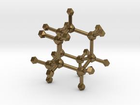 Adamantane in Natural Bronze