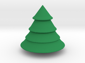 Tree in Green Processed Versatile Plastic