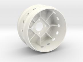 "ZC-825 Mod 2.125"" (1pcs) in White Processed Versatile Plastic"