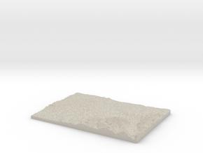 Model of Dranse in Natural Sandstone