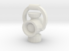 Lantern V1.1 in White Natural Versatile Plastic