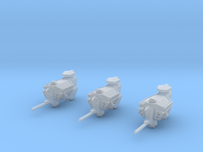 "Kushan ""Vengeance"" Assault Frigates (3) in Smooth Fine Detail Plastic"