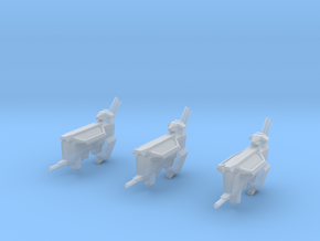 Kushan Matriarch Support Frigates (3) (Variant) in Smooth Fine Detail Plastic