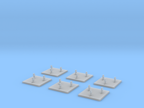 """Kushan """"Spectre"""" Cloaked Fighters (6) in Smooth Fine Detail Plastic"""