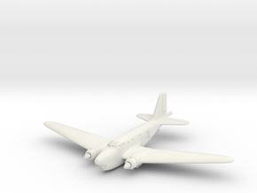 Douglas B-18B Bolo 6mm 1/285 in White Natural Versatile Plastic