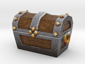 Miniature Ancient Treasure Chest  in Full Color Sandstone