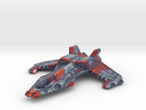 Fighter Jet in Full Color Sandstone