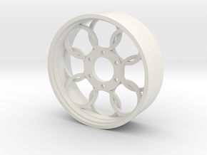 BP8 rear wheel Ring OTO in White Strong & Flexible