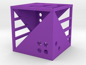 Dice108 in Purple Processed Versatile Plastic