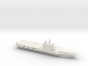 Aircraft Carrier, Generic, Charles De Gaul like in White Strong & Flexible
