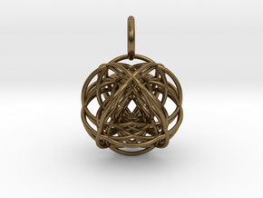VESICA VECTOR in Natural Bronze