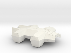 1/144 INTERSTELLAR LANDER in White Natural Versatile Plastic