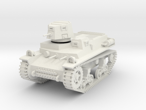 PV57A T16 Light Tank (28mm) in White Natural Versatile Plastic