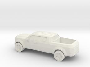 1/87 Ford Super Chief Concept in White Natural Versatile Plastic
