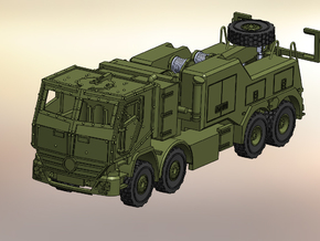 Actros Bison 1:144 in Smooth Fine Detail Plastic