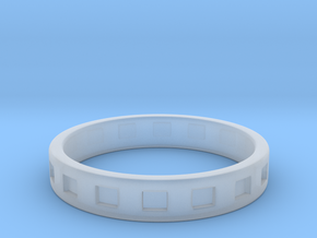 Simple Men's Ring - Size 10.25 in Smooth Fine Detail Plastic