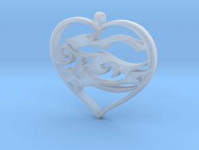 Heart and Soul in Smooth Fine Detail Plastic