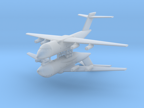 1/700 Xian Y-20 (x2) in Smooth Fine Detail Plastic