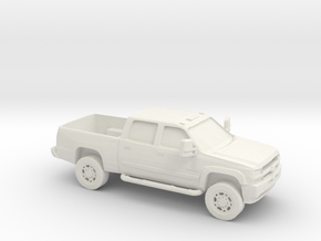 1/87 2006 Chevy Silverado in White Natural Versatile Plastic