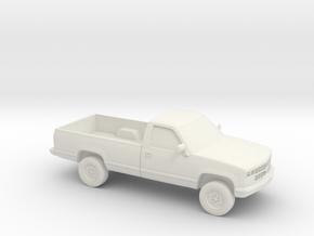 1/87 1989 Chevrolet Silverado in White Natural Versatile Plastic