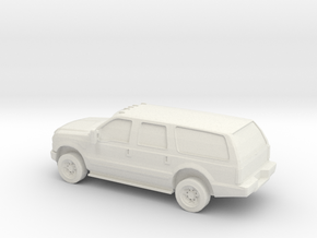 1/87 2010 Ford Excoursion in White Natural Versatile Plastic
